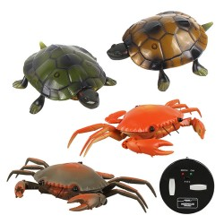 紅外線遙控仿真海洋動物(螃蟹/烏龜)(授權)