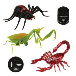 紅外線遙控仿真嚇人昆蟲(蠍子/蜘蛛/螳螂)(授權)