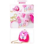 粉紅兔精緻盒裝(珍珠時尚包+梳妝組)家家酒(授權)
