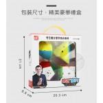 魔方格異形魔方大禮盒(粽子型+金字塔+斜轉型+五邊型+魔方秘笈)(實色炫彩版)(授權)