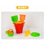 6件式小水桶玩沙工具組(沙灘組)