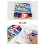 POLI波力著色文具組(手提盒裝)(16色色鉛筆80頁)(授權)