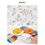 DIY著色人物職業拼圖組(707769)