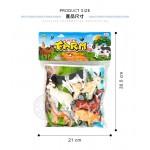 6入仿真農場動物模型(小隻)(硬材質)(安全塑料)