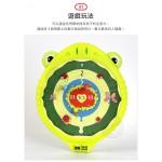 動物造型兒童安全磁性飛標靶組(附3個磁力標)(9301)