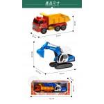 韓國進口砂石大卡車+大怪手(ST品質保證)(大台仿真超會跑) (無法超商取貨)