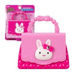 粉紅兔時尚小手提包(授權ST)