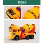 ST台灣配音大型黃色水泥車(車門開附人偶)(品質佳超會跑)