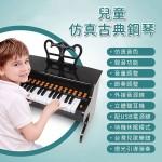 仿真古典鋼琴(教學發光琴鍵)(USB供電可錄音)(超多功能模組)