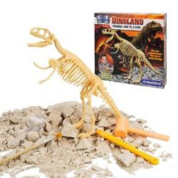 仿真考古挖掘恐龍骨頭模型組(全配組)