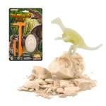 仿真考古挖掘恐龍蛋(螢光版)(2入裝)
