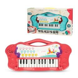 炫彩手提式多功能兒童電子琴(可USB供電)(8830) (無法超商取貨)