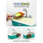 兒童精緻超仿真洗碗槽家家酒(模擬循環出水)(6012) (無法超商取貨)