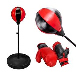 兒童直立式健身拳擊練習遊戲(附2個手套) (無法超商取貨)