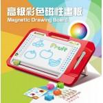 83832高級彩色磁性畫板(大版)(附畫冊圖卡)(擦寫流暢)(45度腳架)
