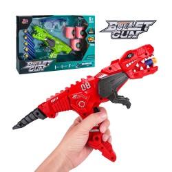 恐龍造型安全軟彈槍組(附護目鏡+軟彈+靶)