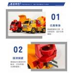 韓國進口砂石車+水泥車(ST品質保證)(大台仿真超會跑)