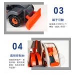 韓國進口四輪挖土機+推土(360旋轉)(ST品質保證)(大台仿真超會跑)