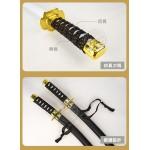 日本忍者長短武士刀劍組(編織帶握把)(附流星飛鏢) (無法超商取貨)