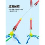 腳踏式彈射飛天火箭(可調角度)(多人露營遊戲)(1632)