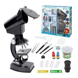 1200倍顯微鏡兒童科學教育玩具套裝組
