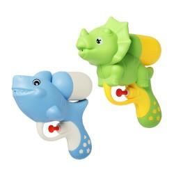 2入可愛動物造型小水槍(恐龍+鯊魚)(超好壓射程遠)