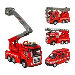 幼兒碰轉聲光消防救援系列