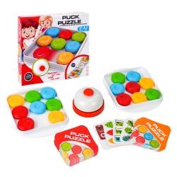 四色滑塊推盤九宮格拼圖遊戲(1-2人桌遊)