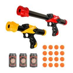 2入雙人對戰短版空氣槍(動力槍)(附16顆子彈+3鏢靶)(KY06) (無法超商取貨)