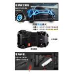 1:16仿真噴霧排氣遙控賽車(2.4G/附充電電池/車頭燈亮)(33692)