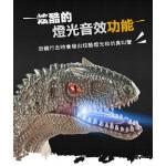 超仿真快速爆走迅猛龍2.4G遙控恐龍模型(仿真音效+行走動作)(3700) (無法超商取貨)