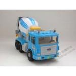 韓國進口大台藍色水泥車(ST玩具百貨公司貨品質保證)