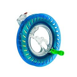 16公分輪盤式捲線器(帶150公尺線)