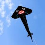 大三角長尾黑鯊魚造型風箏(373*183) (無法超商取貨)