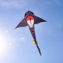 黑色小鯊魚造型風箏(148*248) (無法超商取貨)
