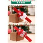 發光聖誕造型拍拍手環(大人小孩皆可戴)(圖案隨機出貨)