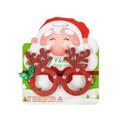 聖誕裝飾造型閃亮眼鏡框(多款可以挑選)