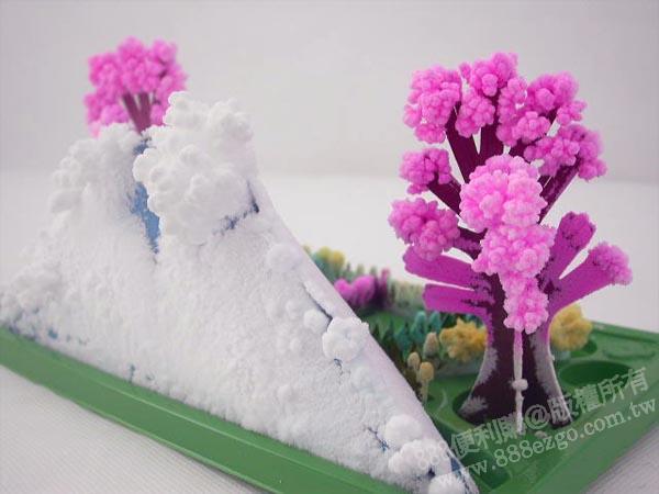 圣诞树衍纸   纸树   搓纸树手工贴画   会开花的纸树